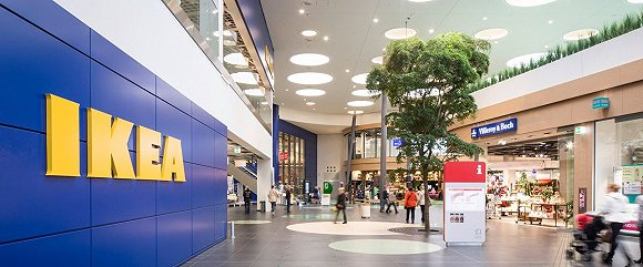 宜家的购物中心