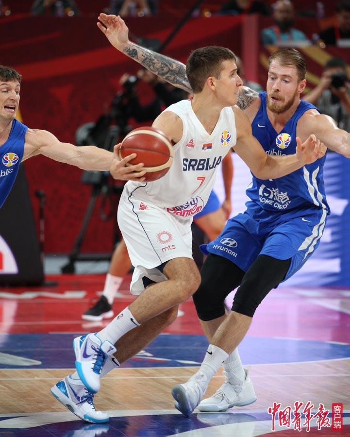 塞尔维亚击败捷克获男篮世界杯第5名