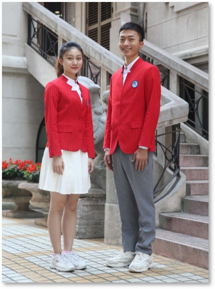 第二届进博会新版志愿者服装发布