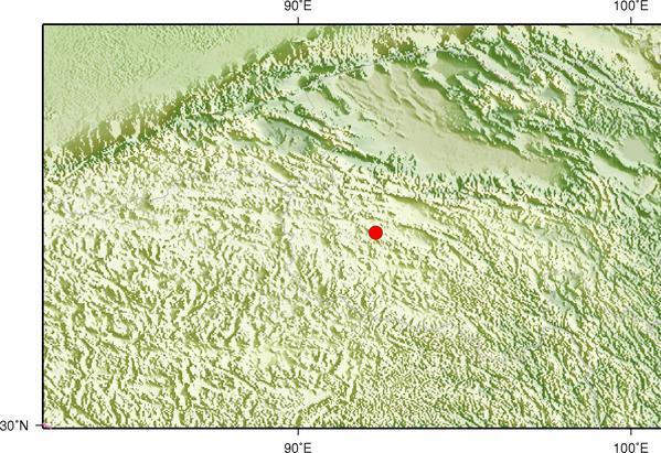 青海治多县发生3.4级地震 震源深度9千米