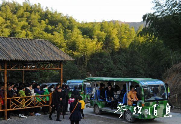 2017年1月1日,浙江武义深山农民发展生态旅游走富路。图片来源:新华社