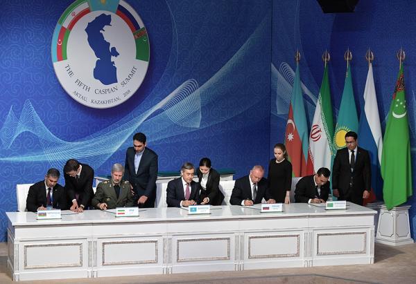 里海五国签署历史性公约 背后是俄20年坚持与远见
