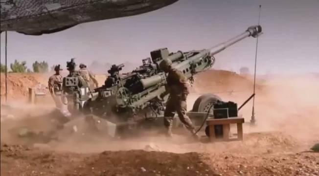 155毫米口径的M777榴弹炮,后坐力有多大?