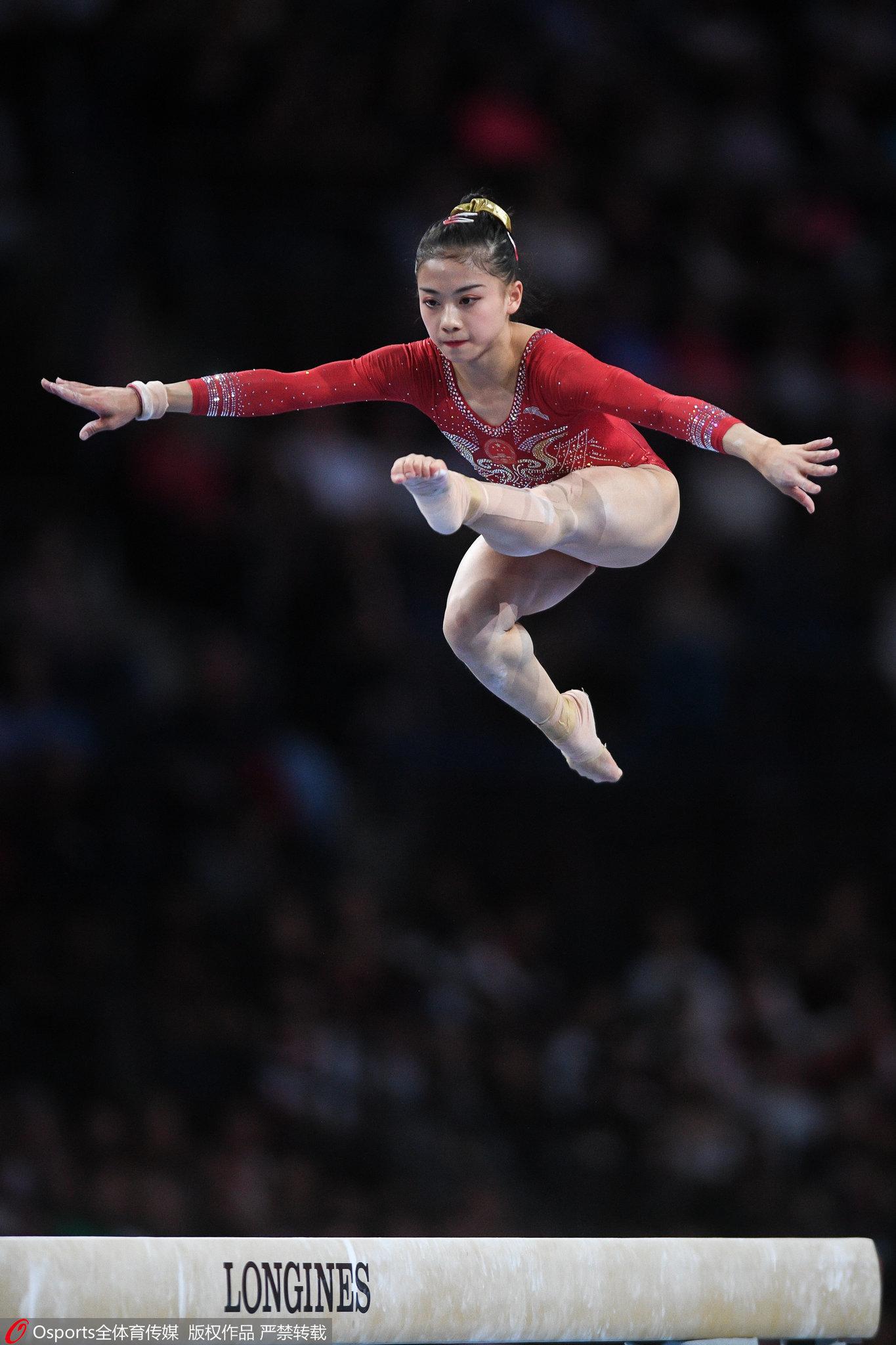 中国女团16年后再次无缘体操世锦赛领奖台。图/Osports