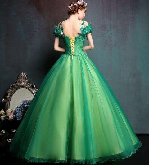 十二星座专属婚纱男人,摩羯座简单大方,天秤座绿色a婚纱!拒绝了巨蟹座高贵好吗图片