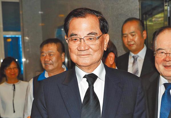 台媒:连战不放弃劝郭台铭团结盼勿造成蓝营分裂