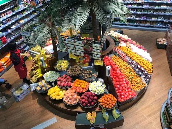幼儿园水果超市区域