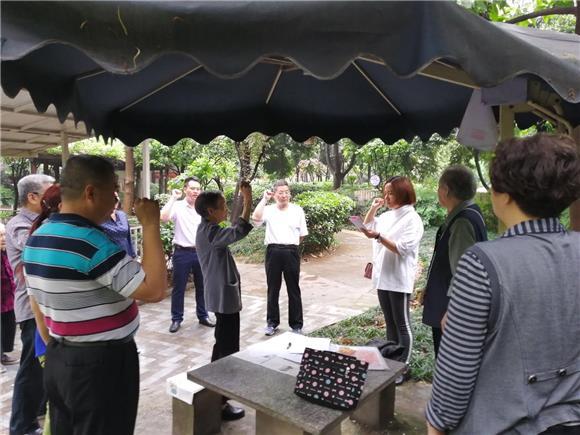 重庆渝北:龙头寺社区在家门口的组织生活会