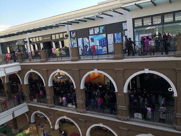 2018年底,王府井集团旗下长春赛特奥特莱斯mall项目赶在元旦前正式图片