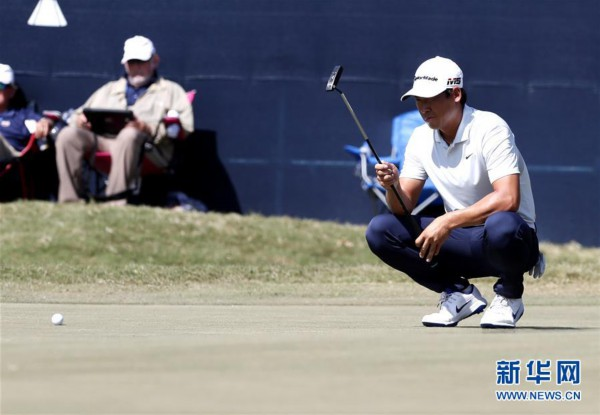 高尔夫美巡赛:张新军获休斯敦公开赛总成绩第四