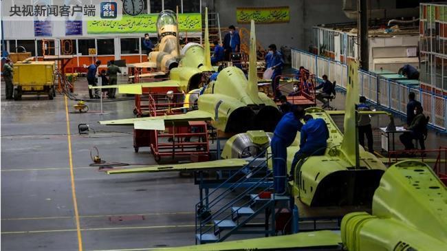 伊朗宣布大规模量产考萨尔战斗机