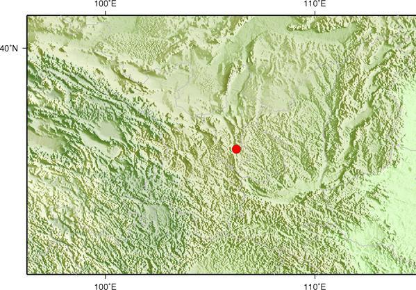 4月2日10时38分宁夏固原市原州区发生2.3级地震