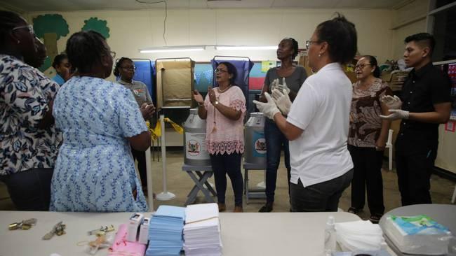 苏里南大选计票仍在进行中 最大反对党胜选票领先
