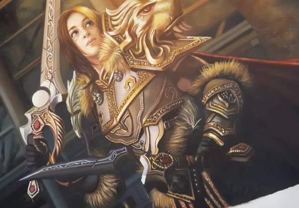 """【cos】妹子性转COS《魔兽世界》瓦里安 这个国王有点""""胸"""""""