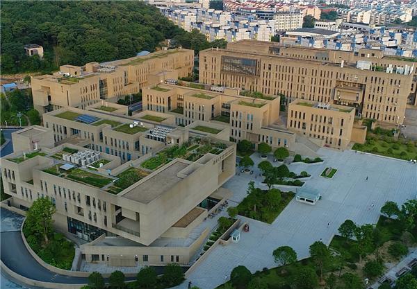湖南大学俯视图。湖南大学网站截图