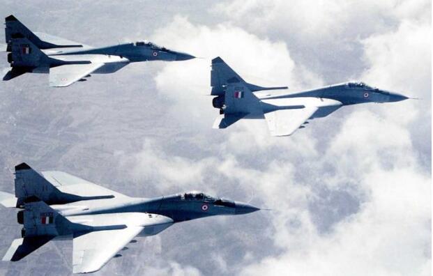 印度被曝拟购21架米格-29战机半成品应急。(图源:印媒)