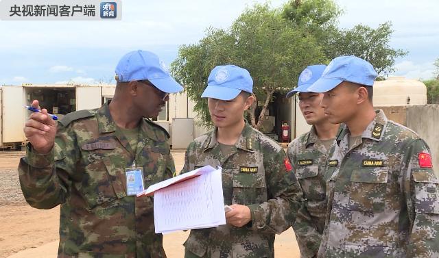 中国第四批维和步兵营高标准通过联合国装备核查