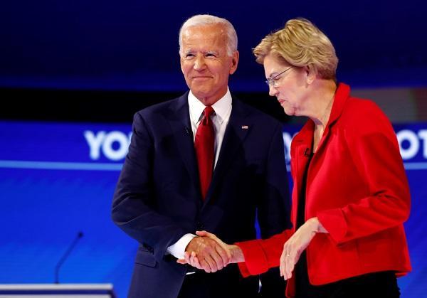 美民主党18州初选民调:沃伦领先拜登 桑德斯第三