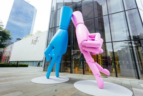 """大型互动艺术装置""""HANDS""""亮相,广州太古汇8周年系列活动上线"""