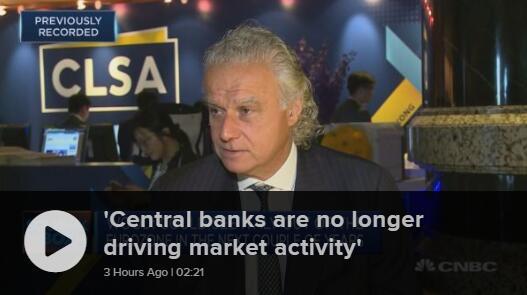 里昂证券:政治因素超越央行成为金融市场主要驱动力