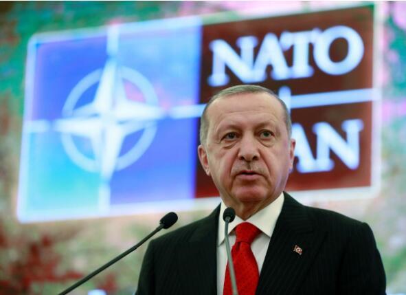 土耳其总统埃我多安。(图源:路透社)