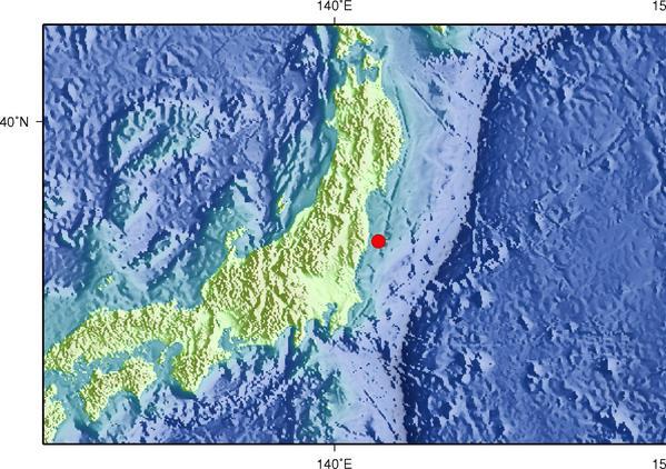7月31日16时42分日本本州东岸近海发生5.3级地震