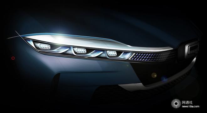 观致汽车5G智能电动轿跑概念车 北京车展首发