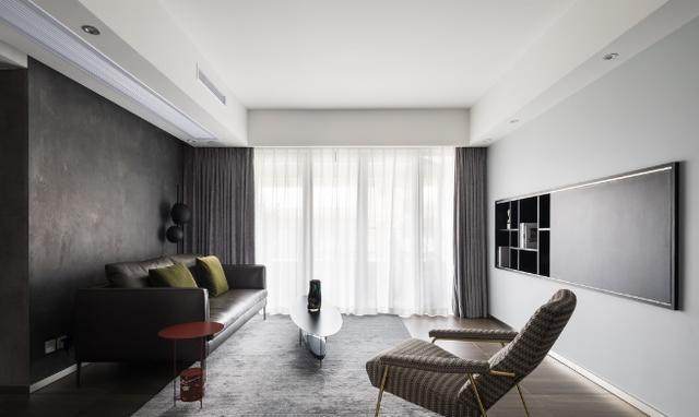 花18万元装修这套120平米的一居室,简约风格,给大家晒晒!-雅居乐富春山居装修