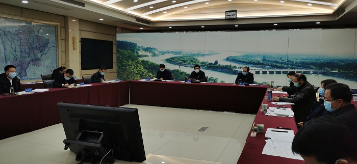 尧斯丹强调分区分类有力有序推进全省重点水利项目复工开工