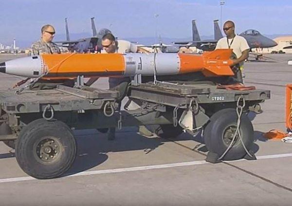 图为美国B61-12核弹