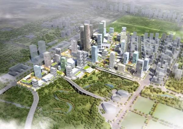 龙湖景粼玖序在中央公园遇见超级商圈