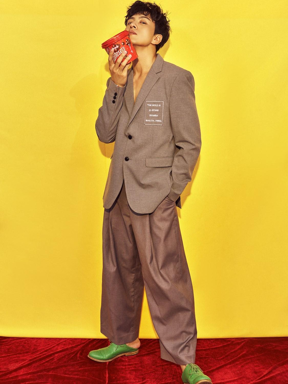 马敬涵休闲西装时尚帅气  摩登绅士不失少年感