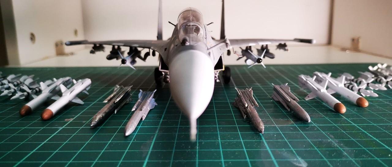 我与海军70年:网友制作的中国海军航空兵苏30MKK战机模型