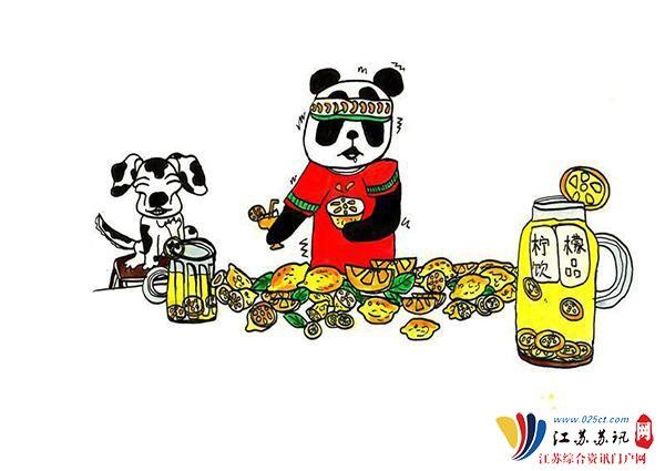 小学生手绘熊猫方言漫画v方言四川爆笑学院漫画示默图片