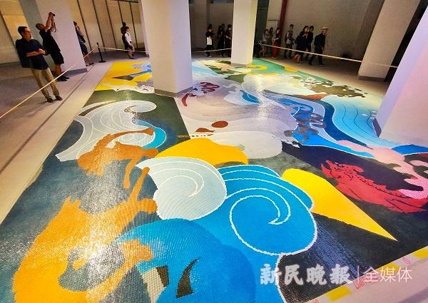 青岛全新空间艺术季后天开幕杨浦滨江2.7公里公共城市开放空间同步租上海别墅暑假图片