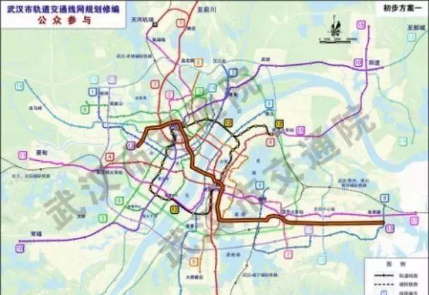武昌的人有福了!武汉地铁5号线、7号线、13号