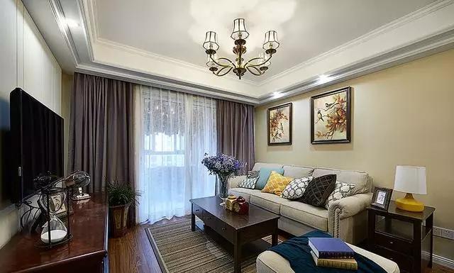 花10万元装修这套95平米的三居室,美式风格,给大家晒晒!-华洲城·云顶装修