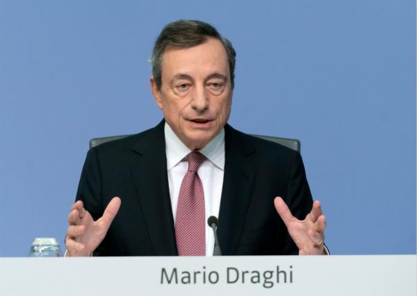 """欧洲央行行长德拉吉发表告别演说 名言""""不惜一切代价""""将被铭记"""