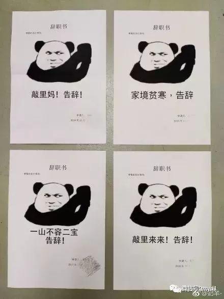 网友沙雕图片真人表情包愤怒大全集的辞职信刷屏,哈哈哈你们太秀了吧_搜狐图片