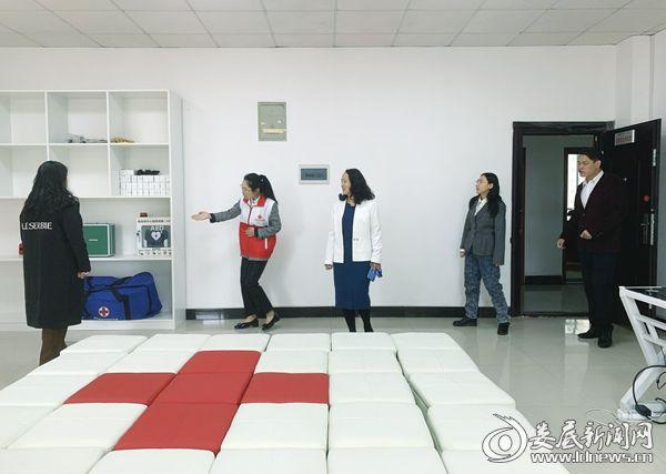 中国红十字总会来娄底验收应急救护培训基地