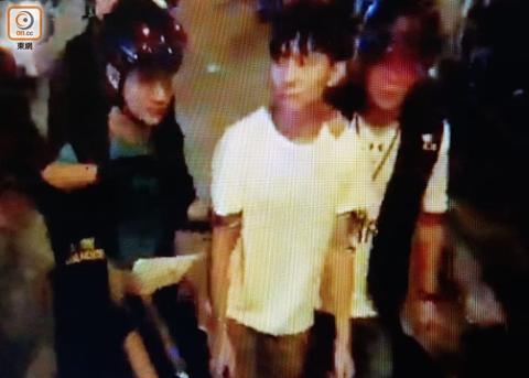 香港浸大学生会会长因盗窃罪被捕 藏罢课学生财物