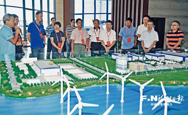 福州市人大代表集中视察海洋及临港产业建设情况