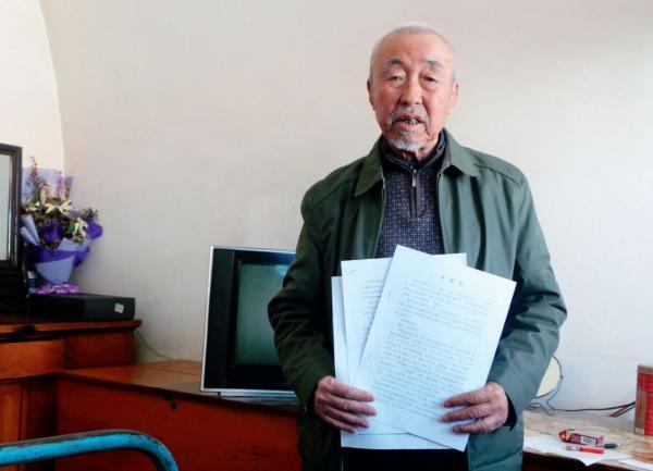 2018年4月,已经80高龄的高智广,因其赵盘庄煤矿被张中生关停后转给张的亲家一事,至今仍在不断举报。摄影/周群峰