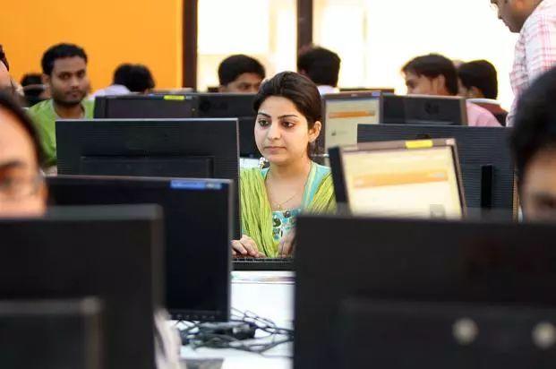 ▲資料圖片:印度軟件業
