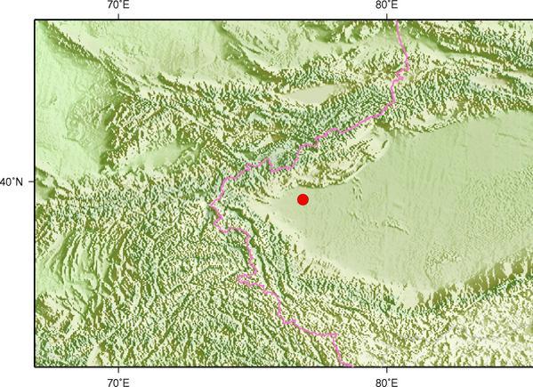 新疆喀什地区伽师发生3.1级地震 震源深度22千米