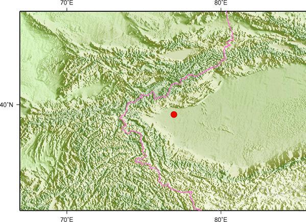 9月4日21时57分新疆喀什地区伽师县发生3.4级地震