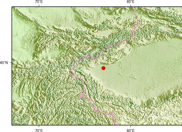 9月7日4时6分新疆喀什地区伽师县发生3.1级地震