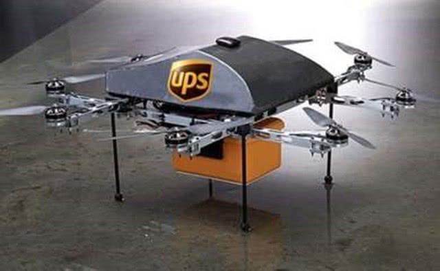 UPS和CVS将联手推出无人机送货上门服务