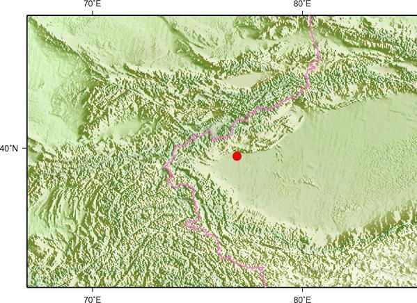 9月20日13时24分新疆喀什地区伽师县发生3.0级地震