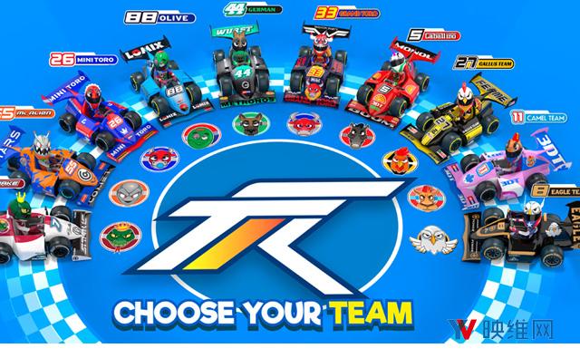 八人同时竞速,VR赛车游戏《Touring Karts》登陆Steam